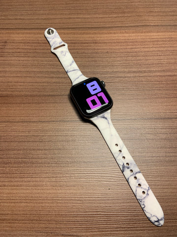 Marble Apple Watch band-38/40