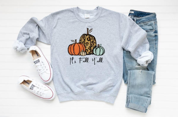 It's Fall Y'all Graphic Sweatshirt