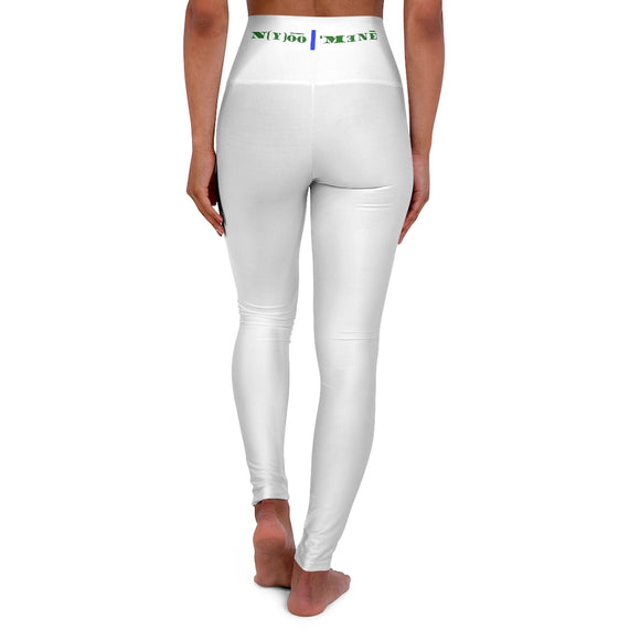 N(y)o͞o ˈMənē High Waisted Yoga Leggings