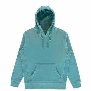Organic Hooded Pullover w/ Blue Strip ***Choose Your Design***