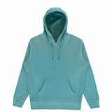 Organic Hooded Pullover - Blue Strip