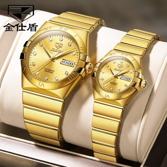 Automatic Couple Watch Sapphire Waterproof Mechanical Watch Couple Gift Top Brand Luxury Fashion Lover Wristwatch for Rolexable