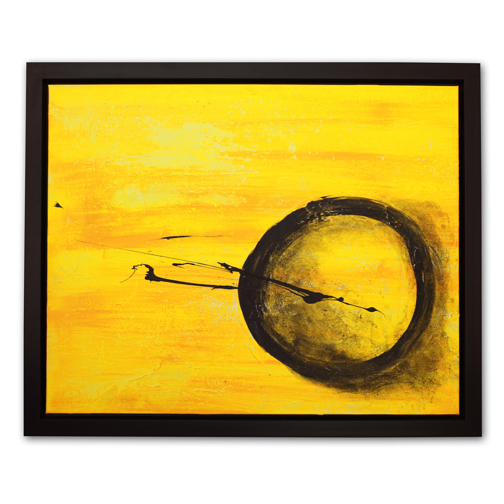"""Lost in a Yellow Space"", Acrylic on Canvas, New York"