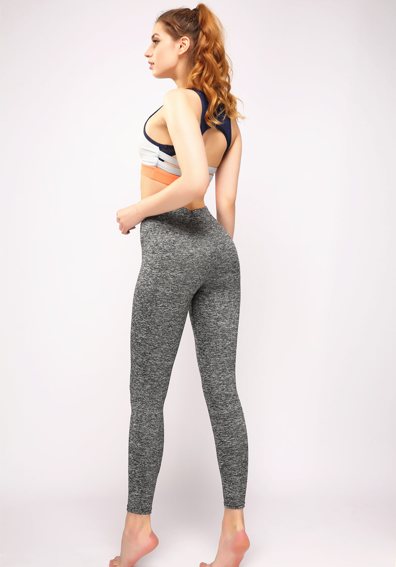 V-Waist Slim Leggings