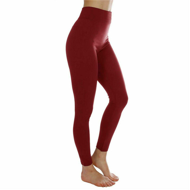 Running Pants Women Sport Fitness Leggings S-XL Black Slimming High Elastic Jogging Gym Tights Stretch Push Up Sport Pants