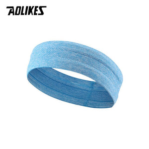 AOLIKES Professional Sweatband Sports Moisture-wicking Non slip Headband unisex breathable band for sports fitness workout