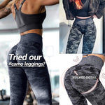 Casual Camouflage Fitness Leggings Women's Sexy Skinny High Waist Long Pants Work Out Sportswear Elastic Leisure Leggings