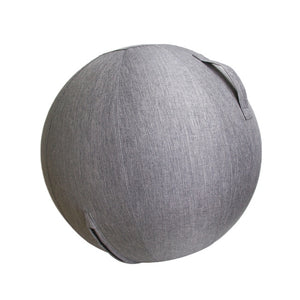 Linen Yoga Ball Protective Cover Gym Workout Balance Ball Cover and Bottom Ring for Yoga Gym Exercise Fitness Accessories