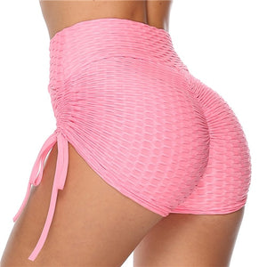 Sexy Women's Sports High Waist Shorts Athletic Gym Workout Fitness Yoga Leggings Briefs Athletic Breathable
