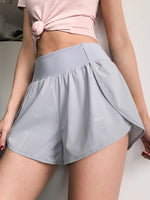 Yoga Shorts for Women Tummy Control Workout Running Athletic Non See-Through Yoga Shorts with Side Pockets