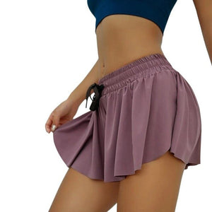 Women's Yoga Shorts 2 in 1 Sports Running seamless Short Fitness Workout Push Up Gym Breathable quick-dry Shorts multi-function