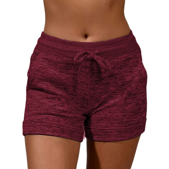 Women's Quickdrying Shorts women sexy shorts fitness casual sexy short cotton Lace Up Shorts Athleisure Shorts