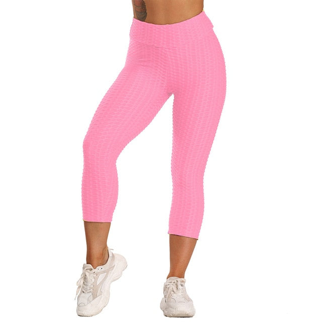 Scrunch Back Winter Fitness Leggings Hips Up Booty Workout Pants Womens Gym Activewear For Fitness High Waist Long Pant Warm