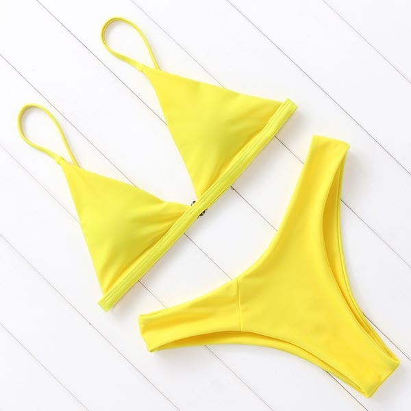 OMKAGI Bikin Swimwear Women Swimsuit Sexy Push Up Micro Bikinis Set Swimming Bathing Suit Beachwear Summer Brazilian Bikini 2021