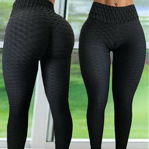 Women Sport leggings Gym Exercise High Waist Fitness leggins High elasticity Tights Running Athletic Trousers push up Yoga pants