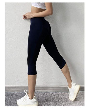 Women's Pants High Waist Leggings Fitness  Capri Gym Quick Dry Tight Push Up Leggings Booty Running Activewear Sweatpant Women