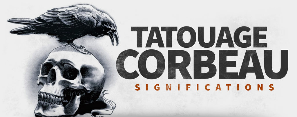 Significations du Tatouage Corbeau