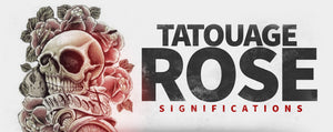 Signification tatouage rose.