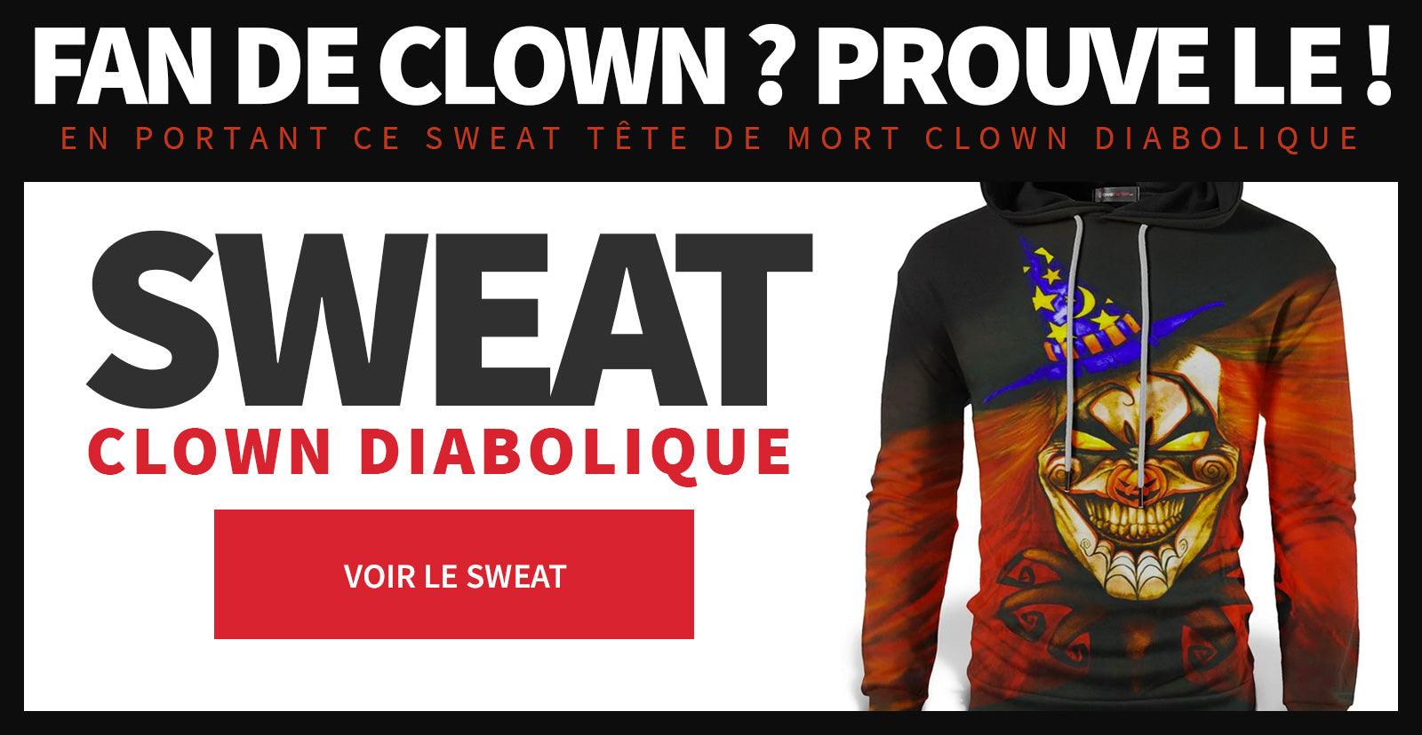 Sweat clown