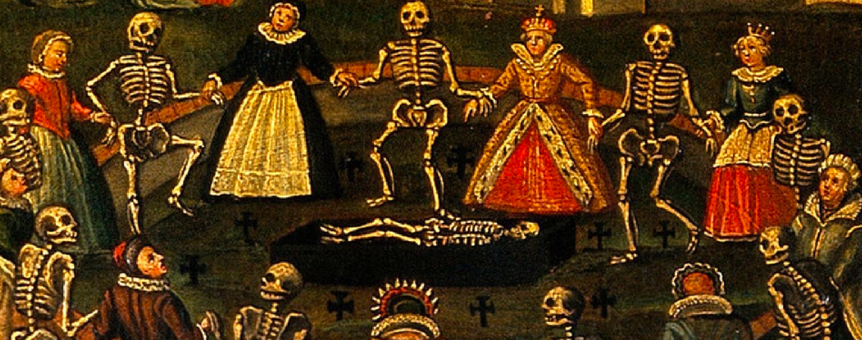 Dance Macabre Painting