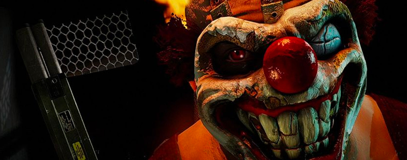 Twisted metal clown