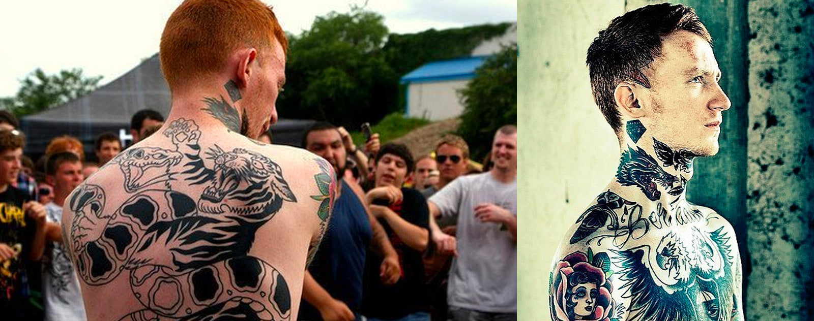 Tatoo Frank Carter.