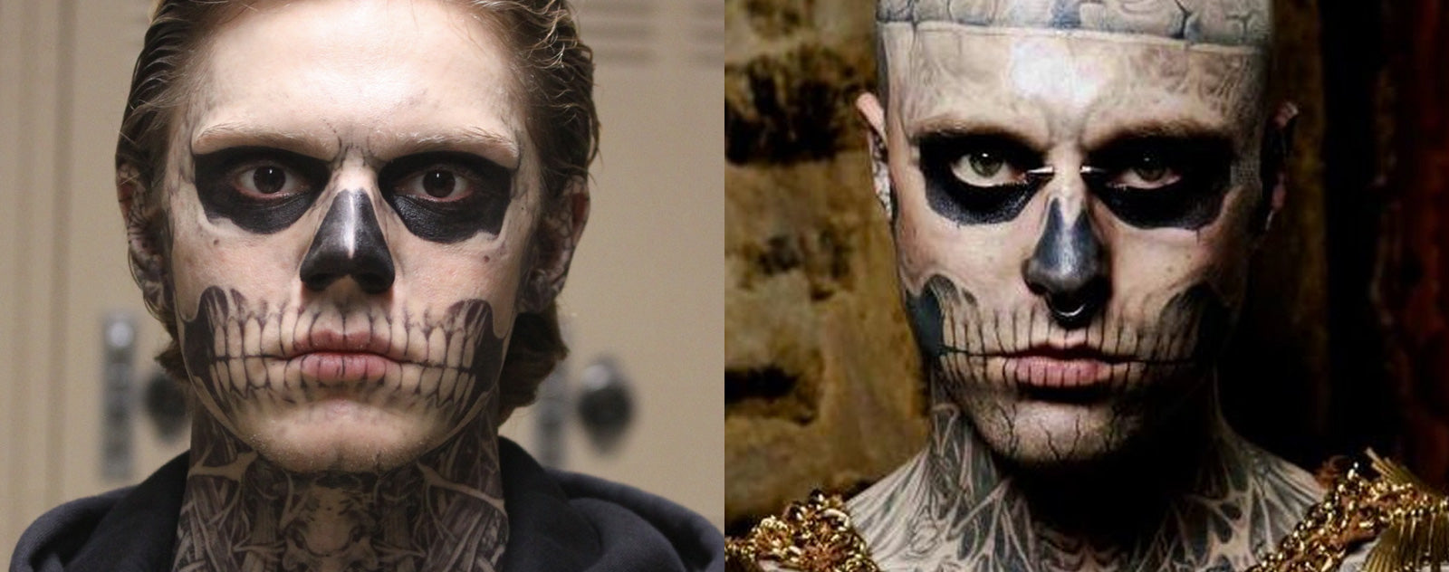 Evan Peters Zombie Boy