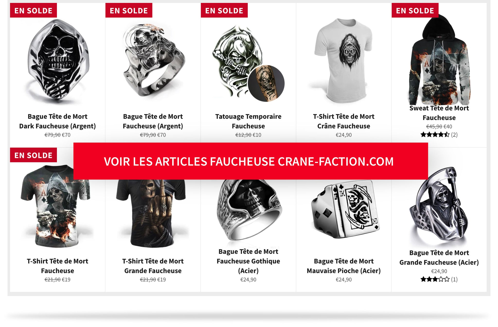 Collections Grande Faucheuse