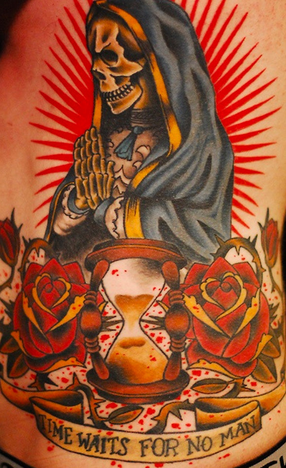 Tatouage Sainte Mexicaine