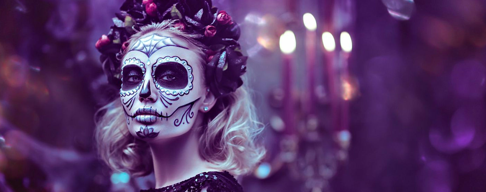 Maquillage Halloween Calavera