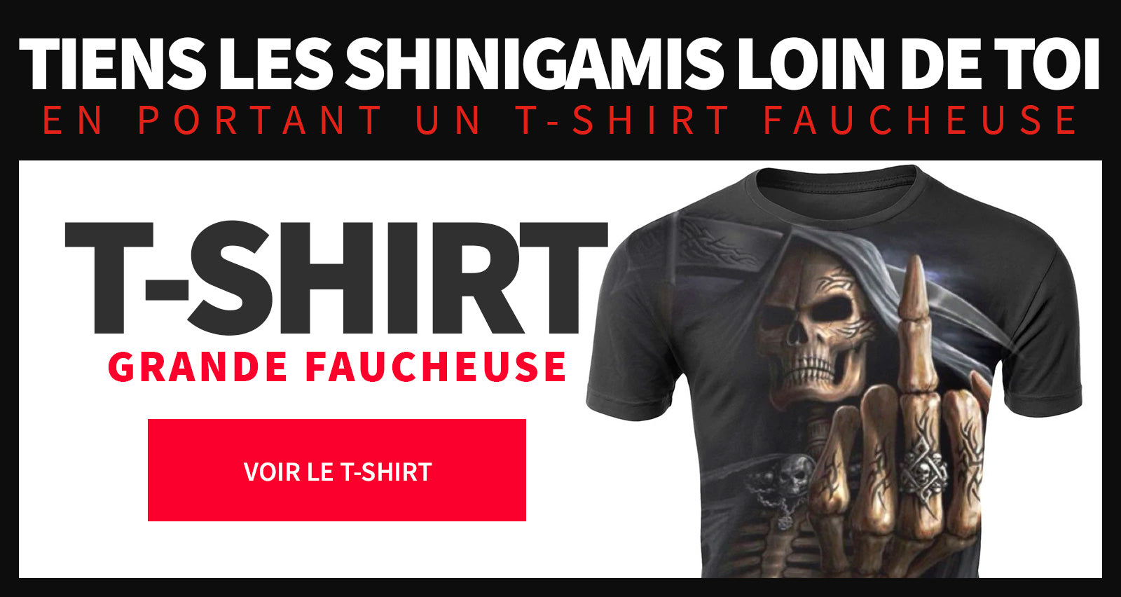 T shirt faucheuse