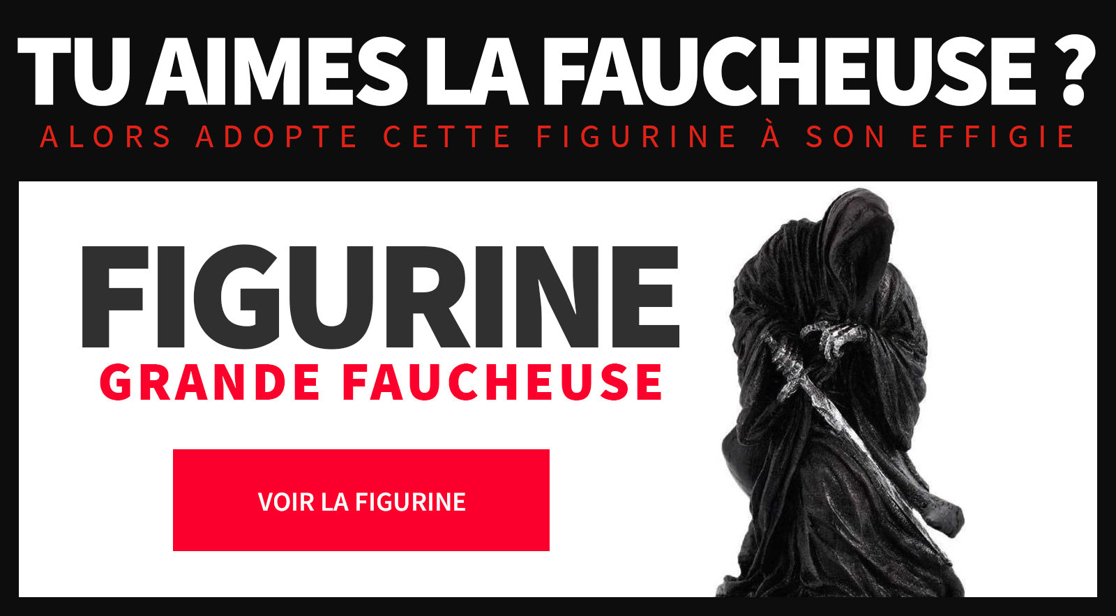 Figurine faucheuse