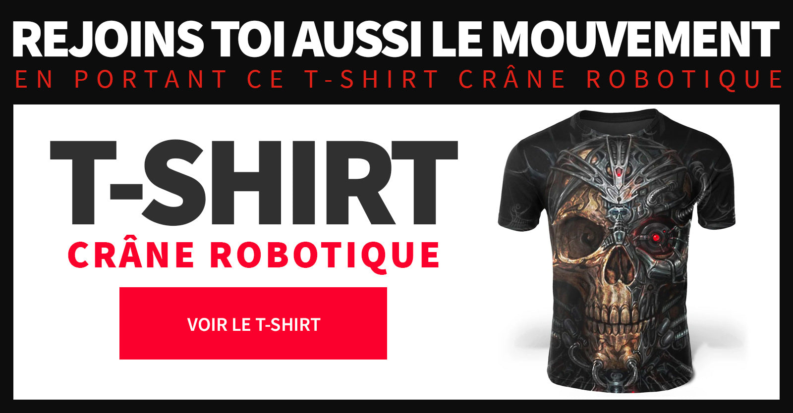 T Shirt robotique