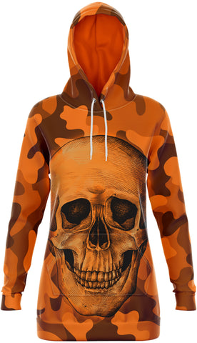 Robe Tête de Mort <br/> Orange