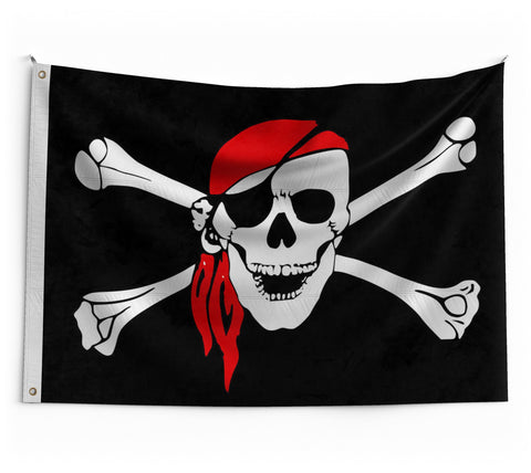 Drapeau Pirate Grand Format