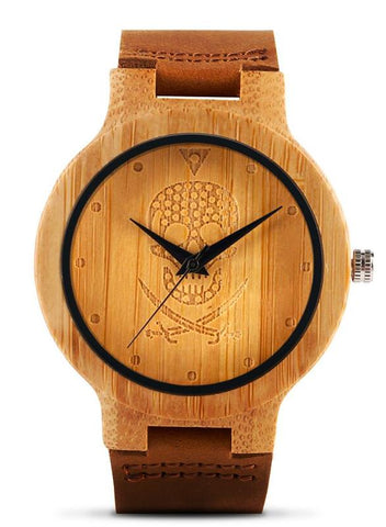 Montre Bois Pirate