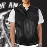 Veste Tête de Mort <br/> Sons of Anarchy (Cuir)