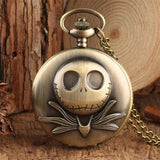Montre de Poche Jack Skellington