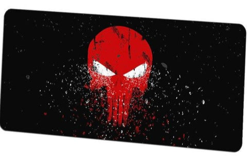 Tapis de Souris Punisher rouge