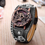 Montre Gothique Noir Pirate