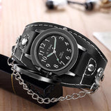 Montre Bracelet Pirate Noir