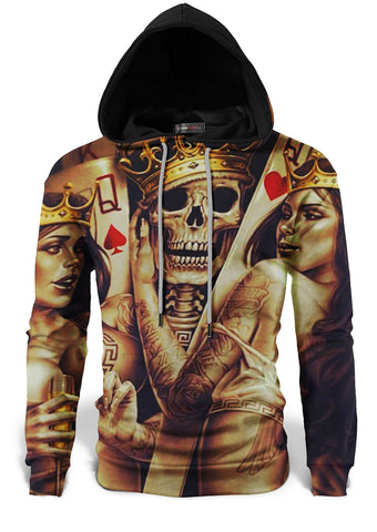 Sweat tete de mort poker