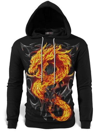 sweat-shirt dragon