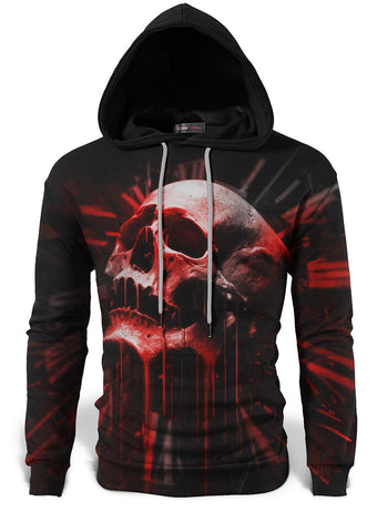 skull sweat shirt man