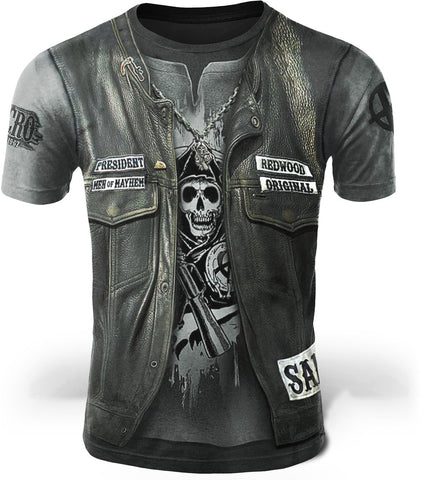 T Shirt Samcro Sons Of Anarchy