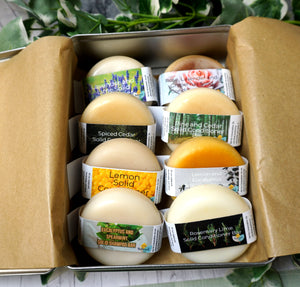 Ultimate Conditioner Bar Collectors Set - 8 x Conditioner Bars + Travel / storage tin