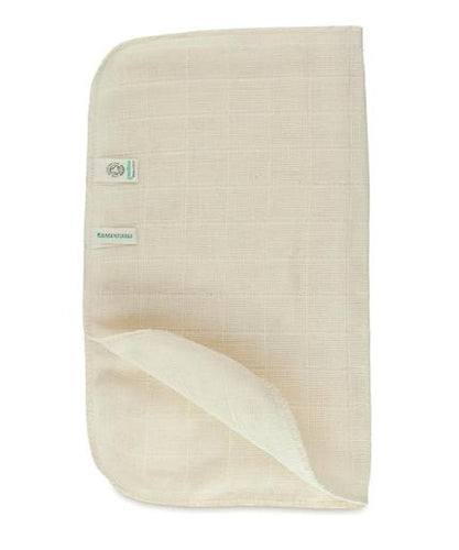 Organic Cotton Muslin Face Cloth - Soil Association Certified