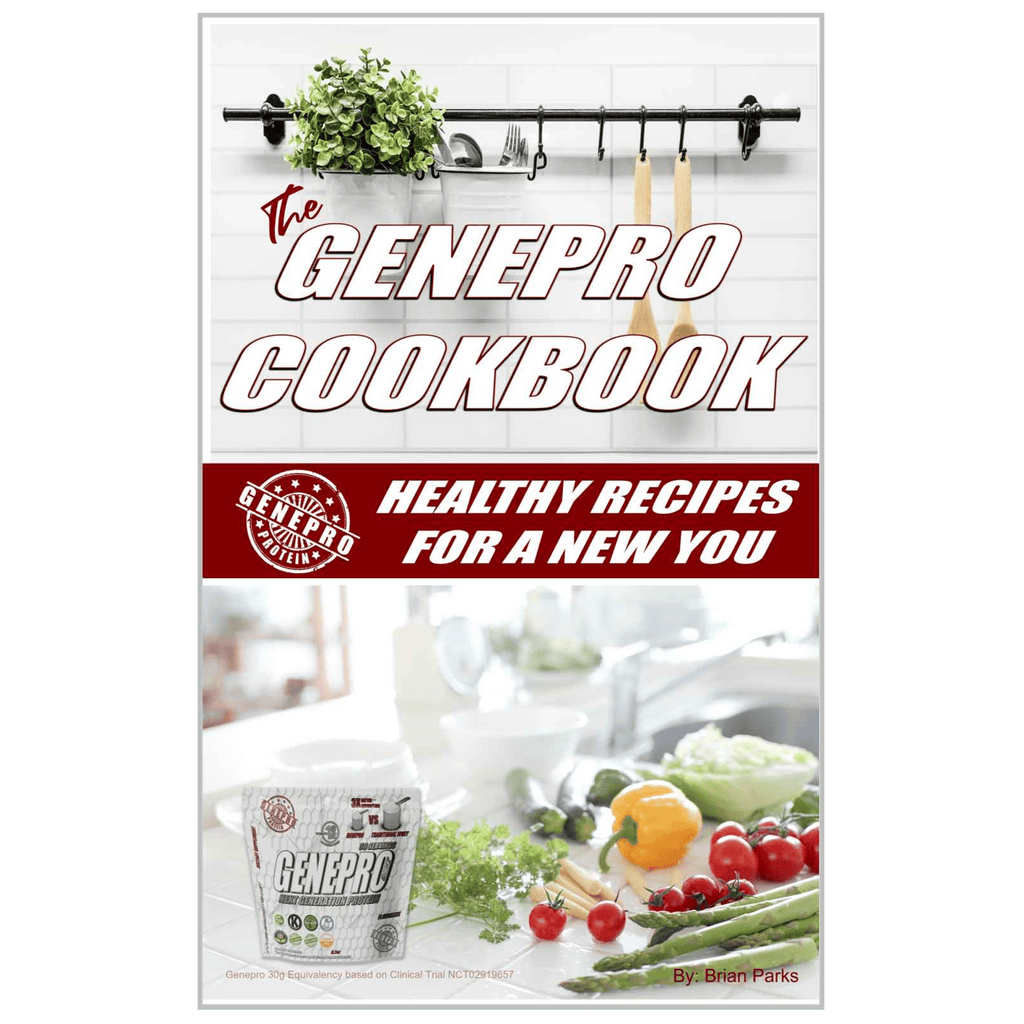 GENEPRO COOK BOOK: Healthy recipes for a New You (Digital Download)