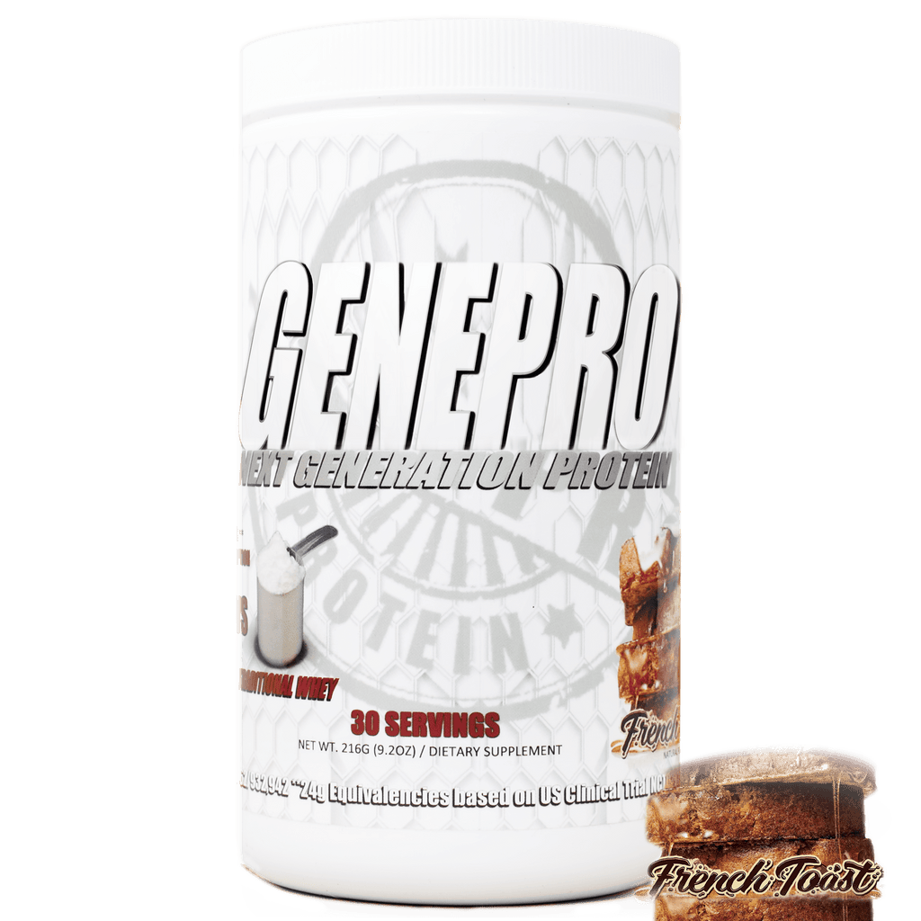 GENEPRO French Toast Flavor Premium Low-Calorie Protein Powder