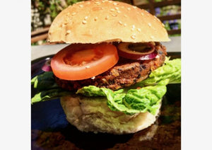 Black Bean & Walnut Burger